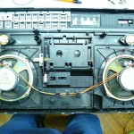 HITACHI TRK-7990E előlap - belülről